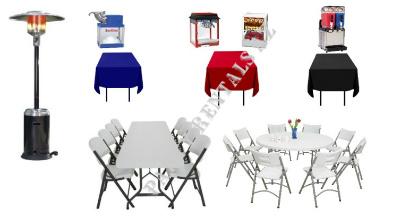 Table Rentals Phoenix-Chair Rentals Phoenix- Glendale-Surprise and ...