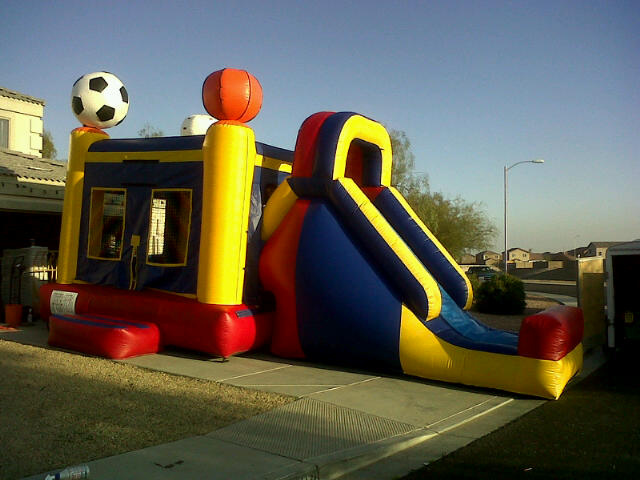 Bouncer Rental Arizona >> Boxing Ring, Bungee Run, Course Obstacle in Surprise Az