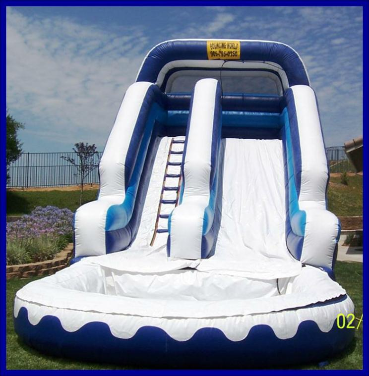 Inflatable Water Slide Az: 16ft Water Slide Rentals In Surprise, Phoenix, El Mirage